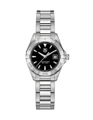 Tag Heuer Ladies Aquaracer Stainless Steel Watch WAY1410BA092-SILVER-One Size