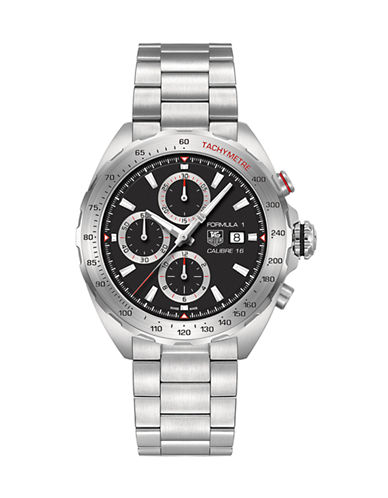Tag Heuer Mens Formula 1 Calibre 16 Chronograph Watch CAZ2010BA087-SILVER-One Size