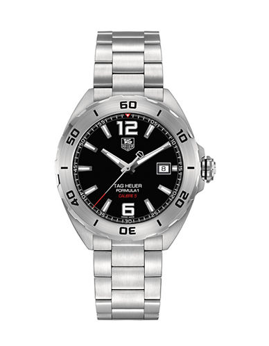 Tag Heuer LA 1 Calibre 5 Automatic Watch WAZ2113BA087-SILVER-One Size