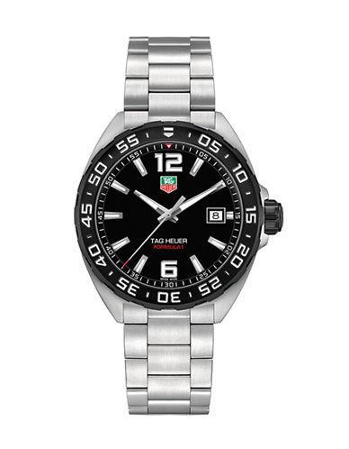 Tag Heuer Mens Formula 1 Bracelet Watch WAZ1110BA0875-SILVER-One Size