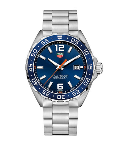 Tag Heuer TAG Heuer Formula 1 Steel Bracelet Watch-SILVER-One Size