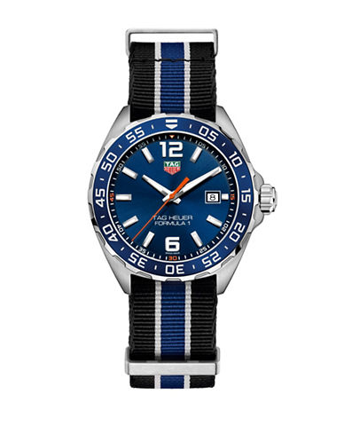 Tag Heuer TAG Heuer Formula 1 Striped Strap Watch-BLUE-One Size