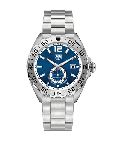 Tag Heuer Formula 1 Stainless Steel Bracelet Watch-BLUE-One Size