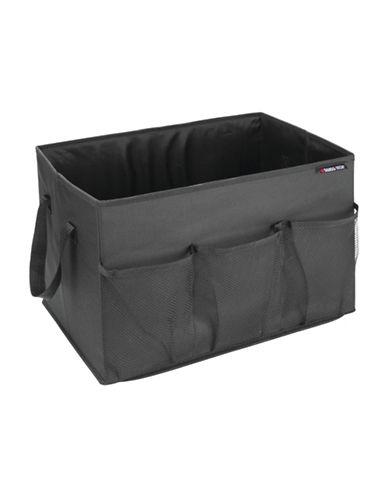 Swiss Tech Foldable Trunk Organizer-BLACK-One Size