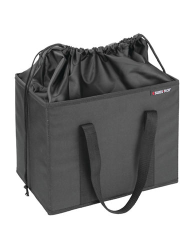 Swiss Tech Portable Cooler Box-BLACK-One Size