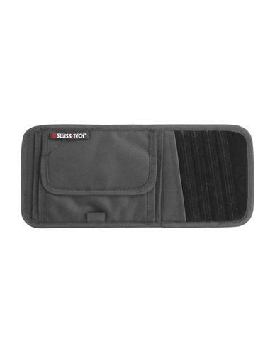 Swiss Tech Visor Travel Organizer-BLACK-One Size
