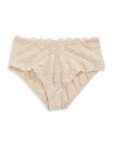 Triumph Amourette Lace Panties-BEIGE-Medium
