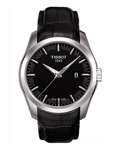 Tissot Mens Couturier  Quartz T0354101605100-BLACK-One Size