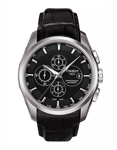 Tissot Mens Couturier  Automatic Chrono T0356271605100-BLACK-One Size