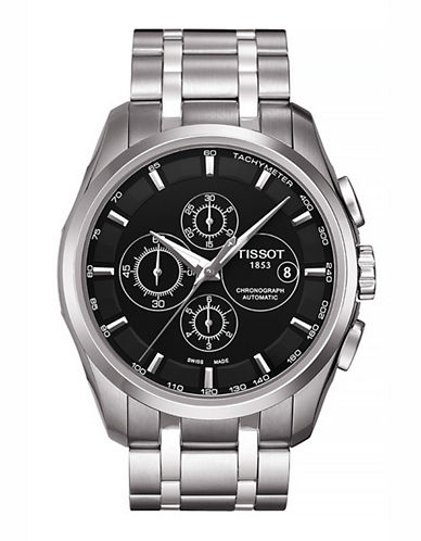 Tissot Mens Couturier  Automatic Chrono T0356271105100-SILVER-One Size