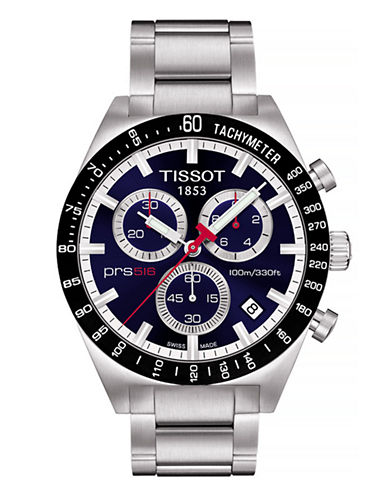 Tissot Mens PRS516  Quartz Chrono T0444172104100-BLUE-One Size
