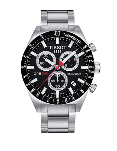 Tissot Mens PRS516  Quartz Chrono T0444172104100-BLACK-One Size