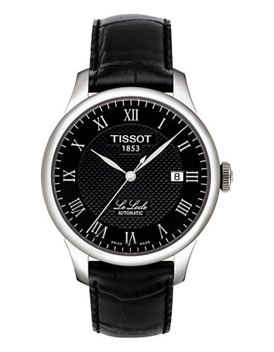 Tissot Mens Le Locle  Automatic T41142353-BLACK-One Size