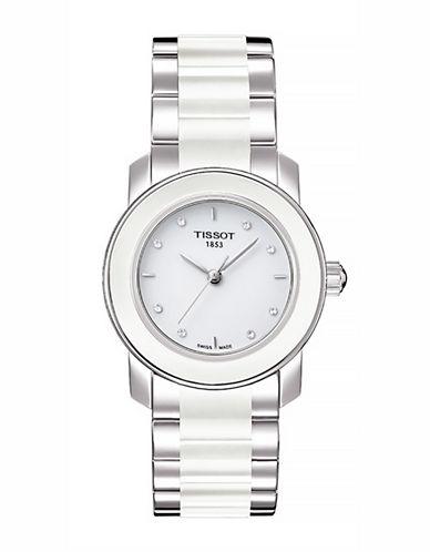 Tissot Womens TCera  Quartz T0642102201600-WHITE-One Size