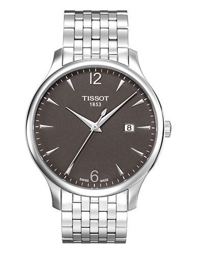 Tissot Mens Tradition  Quartz T0636101106700-SILVER-One Size