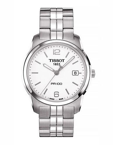 Tissot Mens PR100  Quartz T0494101101700-SILVER-One Size