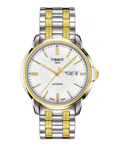 Tissot Mens Automatic III  T0654302203100-TWO TONE-One Size