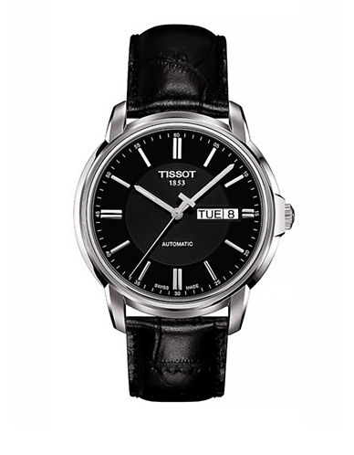 Tissot Mens Automatic III  Automatic T0654301605100-BLACK-One Size