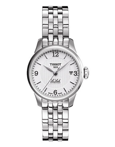 Tissot Womens Le Locle  Automatic T41118334-SILVER-One Size