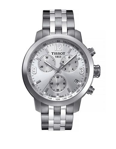 Tissot Mens PRC200  Quartz Chrono T0554171103700-SILVER-One Size
