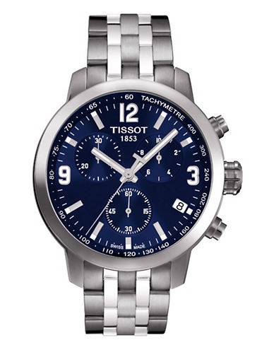 Tissot Mens PRC200  Quartz Chrono T0554171104700-SILVER-One Size