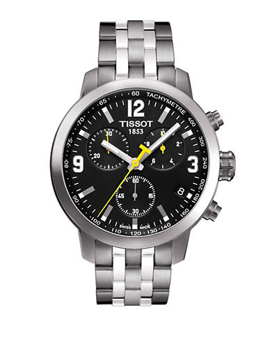 Tissot Mens PRC200  Quartz Chrono T0554171105700-BLUE-One Size