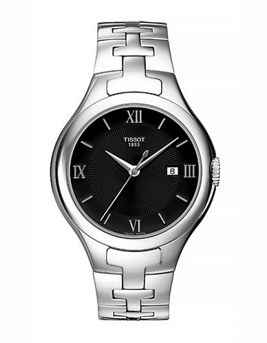 Tissot Womens  Analog T12  Stainless Steel Bracelet Watch-SILVER-One Size