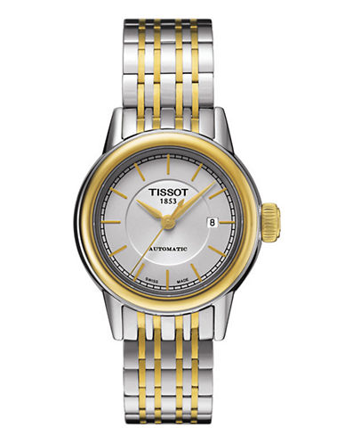 Tissot Womens Carson  Automatic T0852072201100-TWO TONE-One Size