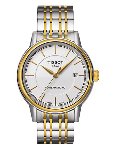 Tissot Mens Carson  Automatic T0854072201100-TWO TONE-One Size