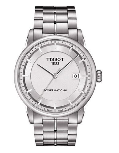 Tissot Mens Luxury  Automatic T0864071103100-SILVER-One Size