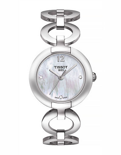 Tissot Womens Pinky  Quartz T0842101111601-SILVER-One Size