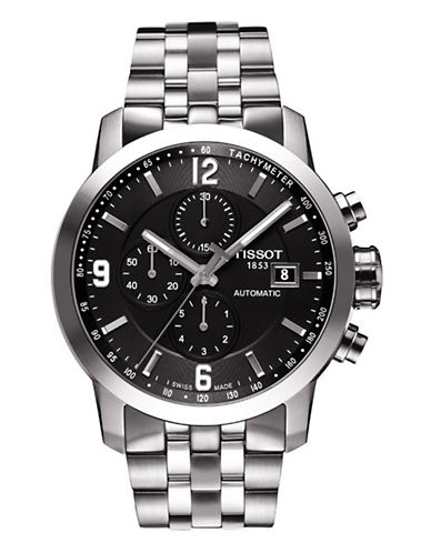 Tissot Mens PRC200  Automatic Chrono T0554271105700-SILVER-One Size