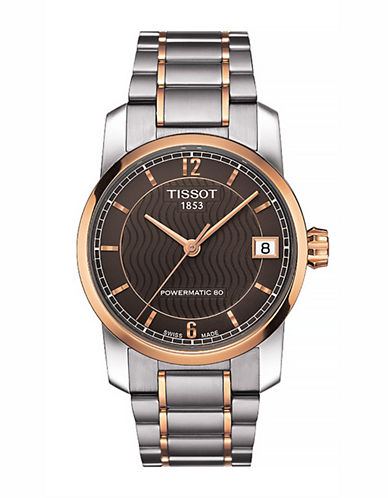 Tissot Womens Titanium  Automatic T0872074405700-TWO TONE-One Size
