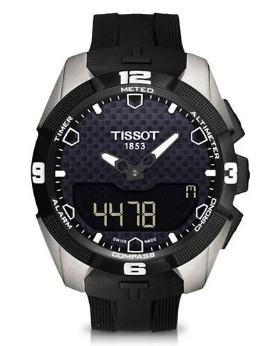 Tissot Mens TTouch Expert Solar  T0914204705100-BLACK-One Size
