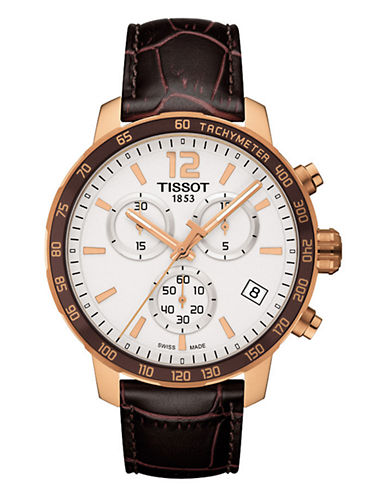 Tissot Mens T0954173603700  Quickster-BROWN-One Size