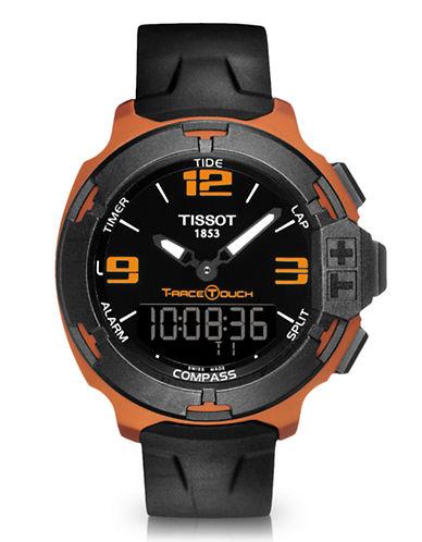 Tissot Mens TRace Touch  Aluminum Quartz  T0814209705703-BLACK-One Size