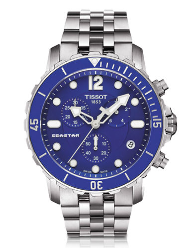 Tissot Mens SeaStar 1000  Quartz T0664171104700-SILVER-One Size