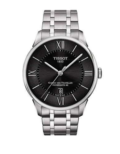 Tissot Stainless Steel Chemin des Tourelles Watch-SILVER-One Size