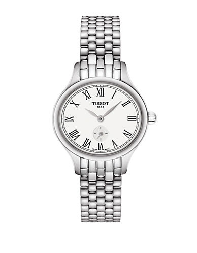 Tissot Chronograph Bellaora Stainless Steel Bracelet Watch-SILVER-One Size