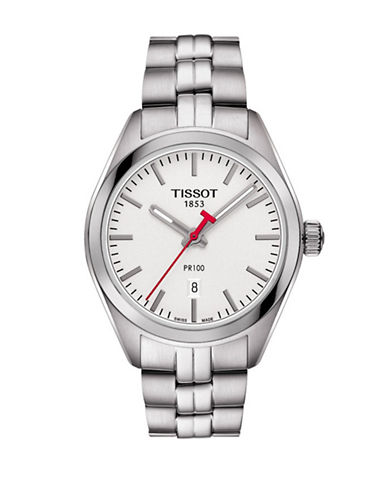 Tissot NBA T-Classic Stainless Steel Watch-SILVER-One Size