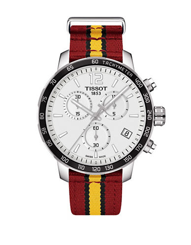 Tissot Miami Heat Quickster Chronograph T-Sport Watch-RED-One Size