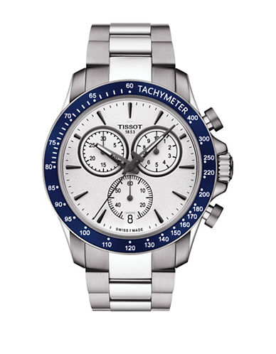 Tissot Chronograph V8  Stainless Steel Watch-SILVER-One Size