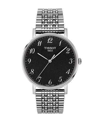 Tissot Unisex Quartz Everytime Stainless Steel Watch-GREY-One Size