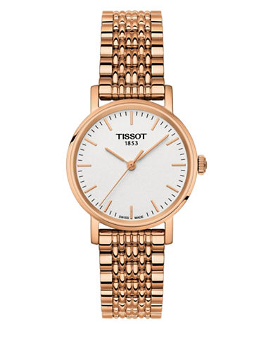 Tissot Classic T10921033031 Rose Goldtone Watch-ROSE GOLD-One Size
