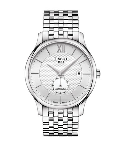 Tissot Analog Tradition Stainless Steel Bracelet Watch-MULTI-One Size