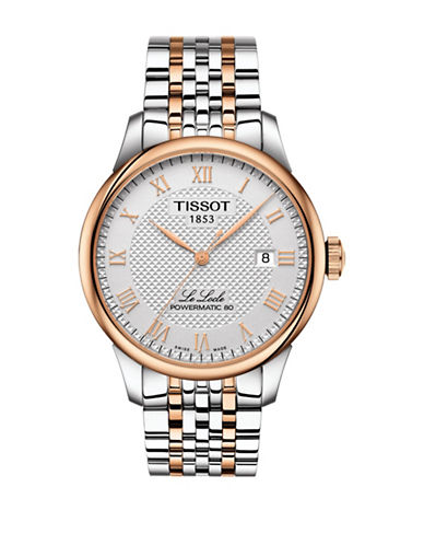 Tissot Classic T00640722033 Two-Tone Watch-ROSE GOLD-One Size