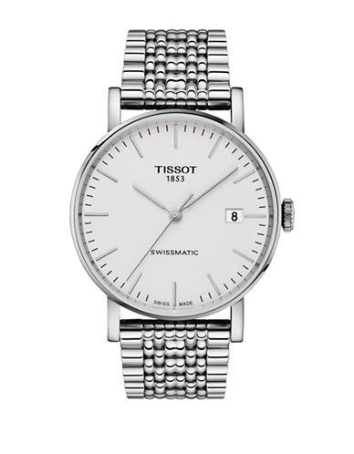 Tissot Everytime Swissmatic Silvertone Watch-SILVER-One Size
