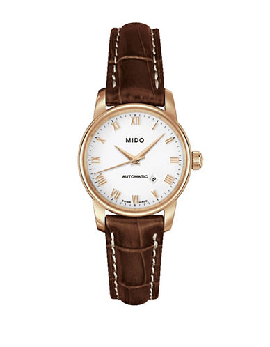 Mido Baroncelli Analog Watch-BROWN-One Size