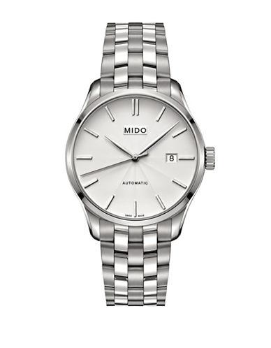 Mido Belluna Silvertone Bracelet Watch-SILVER-One Size