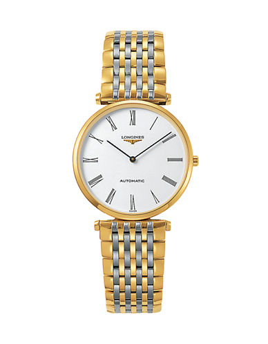 Longines Two-Tone Stainless Steel Analog Watch-TWO TONE-One Size